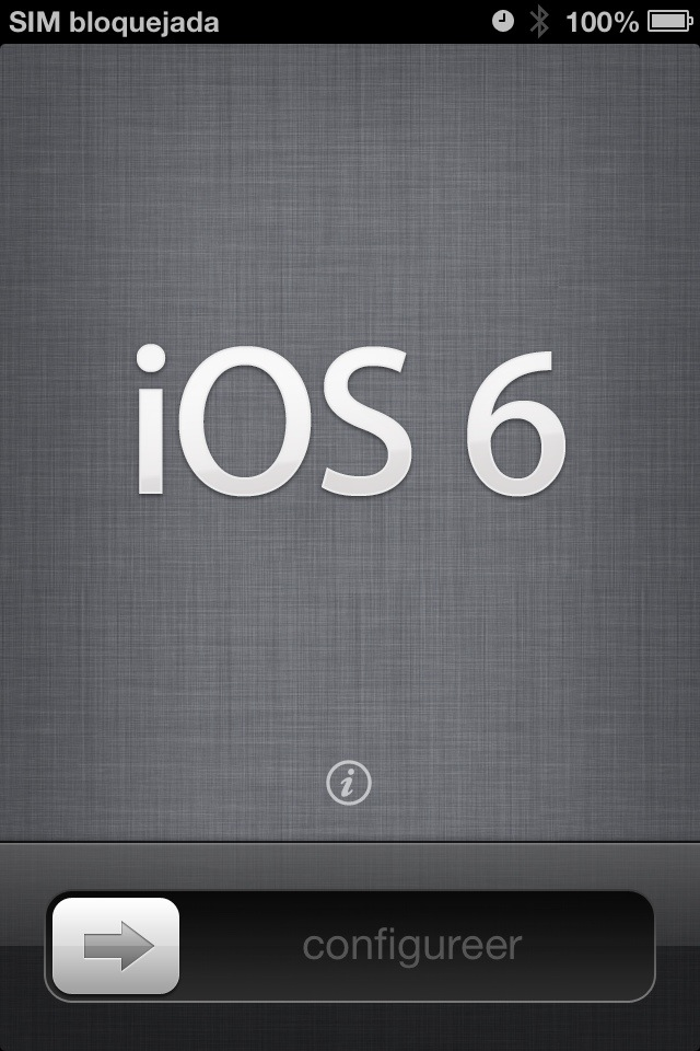 iPhone iOS 6